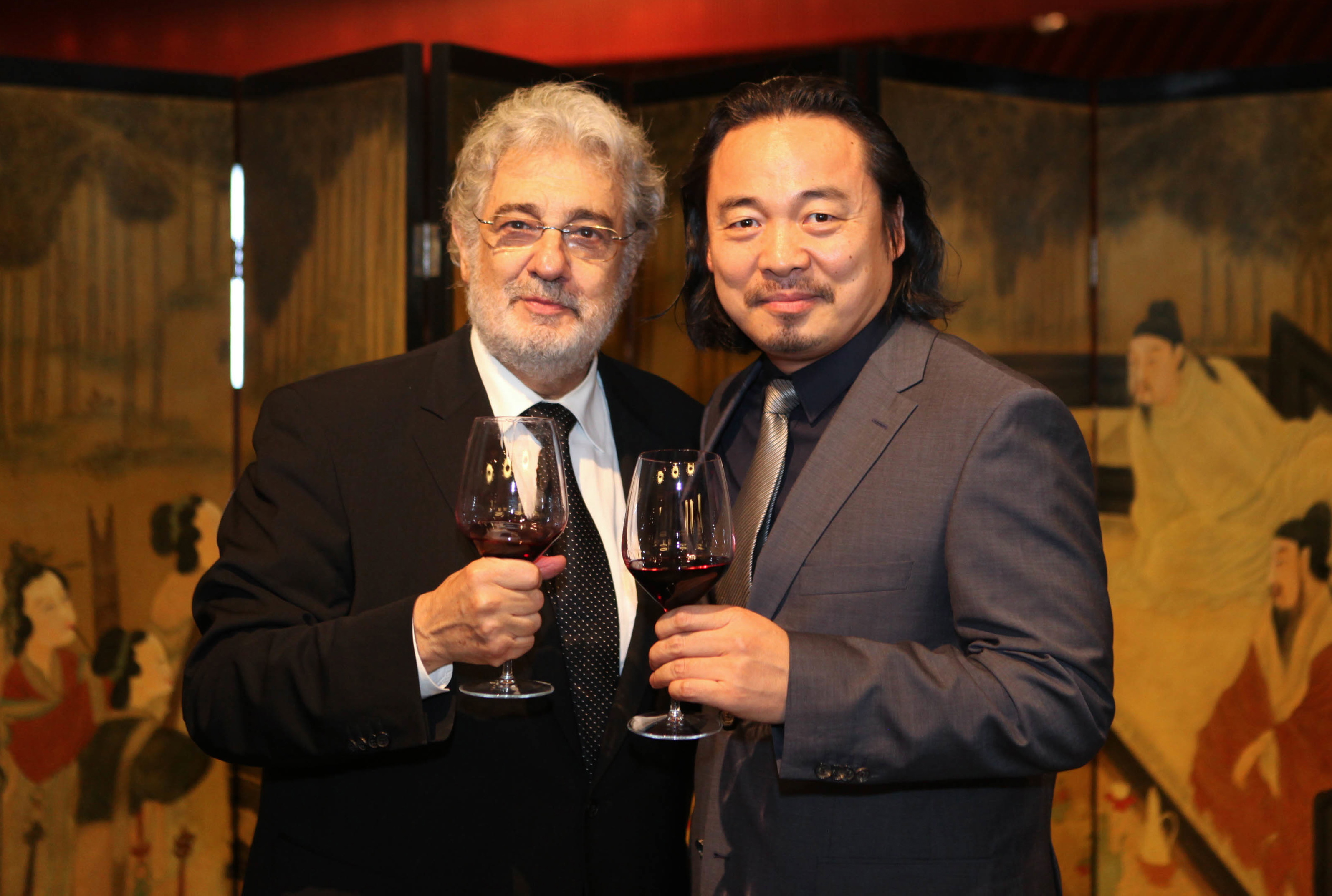 mit Placido Domingo